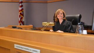 Chief Judge Andrea Andrews Larkin announces retirement