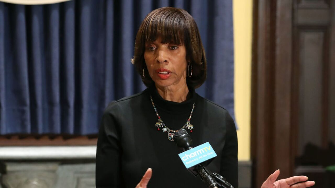 Ex-Baltimore mayor pleads guilty to charges stemming from book deal scandal