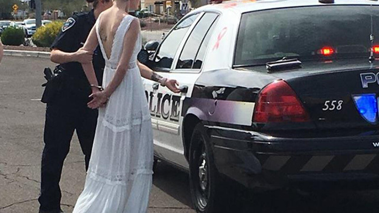Marana police release report on DUI bride arrest