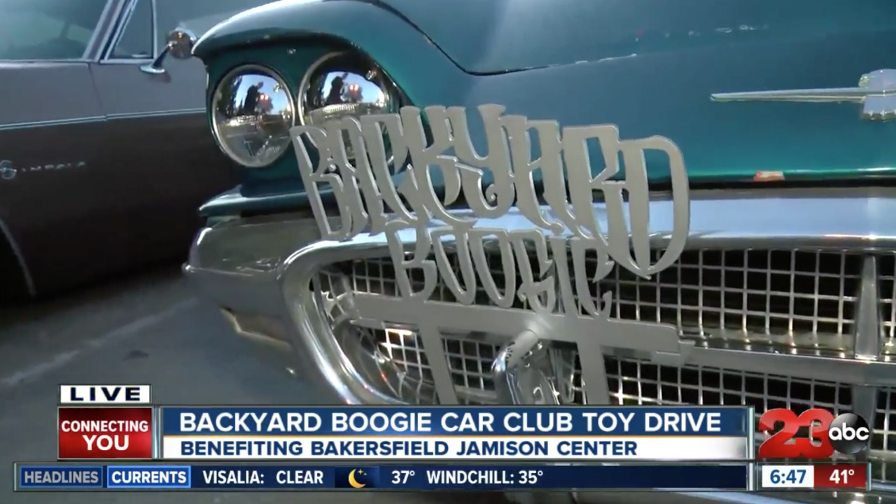 1st Annual Backyard Boogie Toy Drive Show & Shine