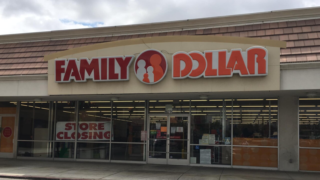 Family Dollar in East Bakersfield closing