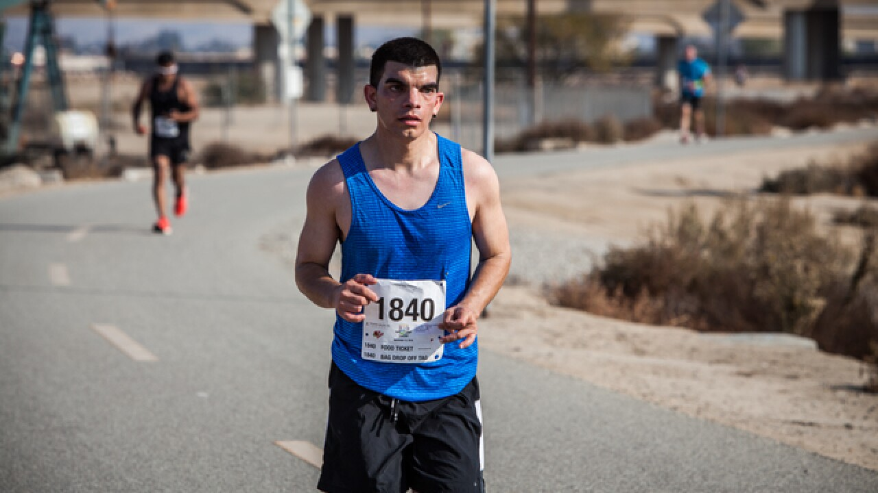 Photos: Bakersfield Marathon Mile 10 and Mile 23