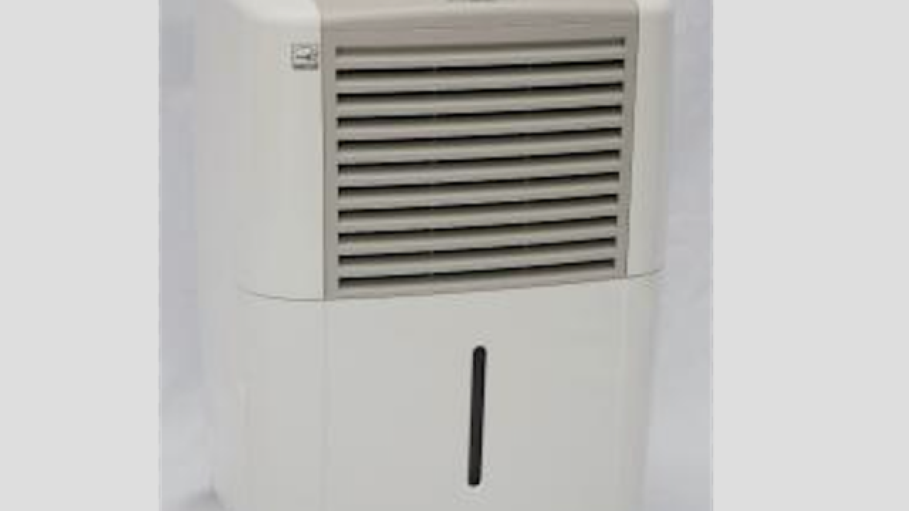 Midea dehumidifiers recalled due to fire hazards