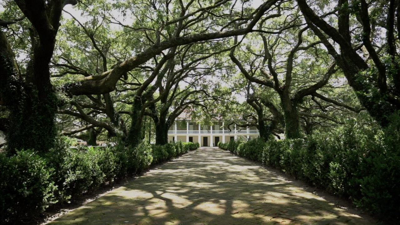 """At the Whitney Plantation, the so-called """"Big House"""" - where the owner and his family lived - is not the main attraction, as it usually is at many other plantations open to the public. Instead, the Whitney has chosen to place its focus on the people who were enslaved there."""