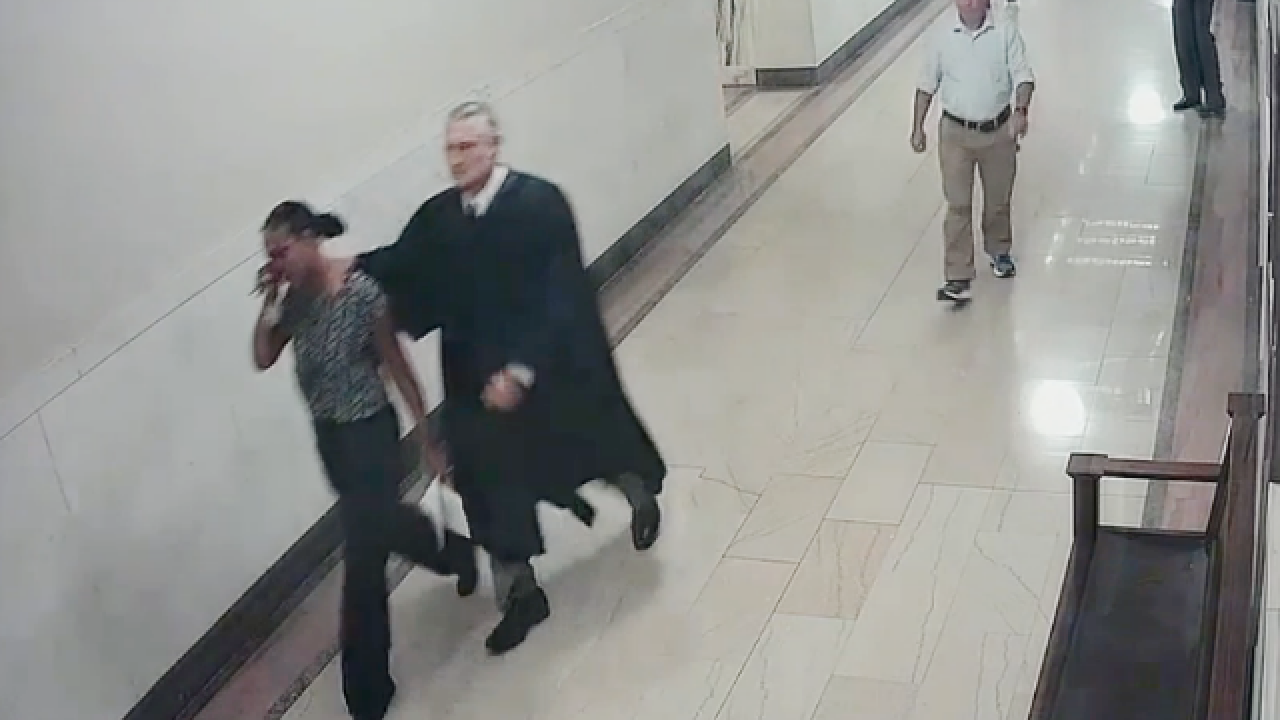 Magistrate resigns after violent courthouse fray