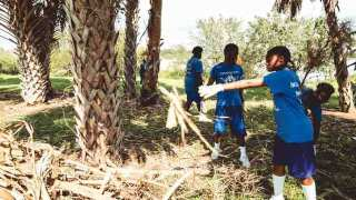 TSU Band Helps With Cleanup In Florida