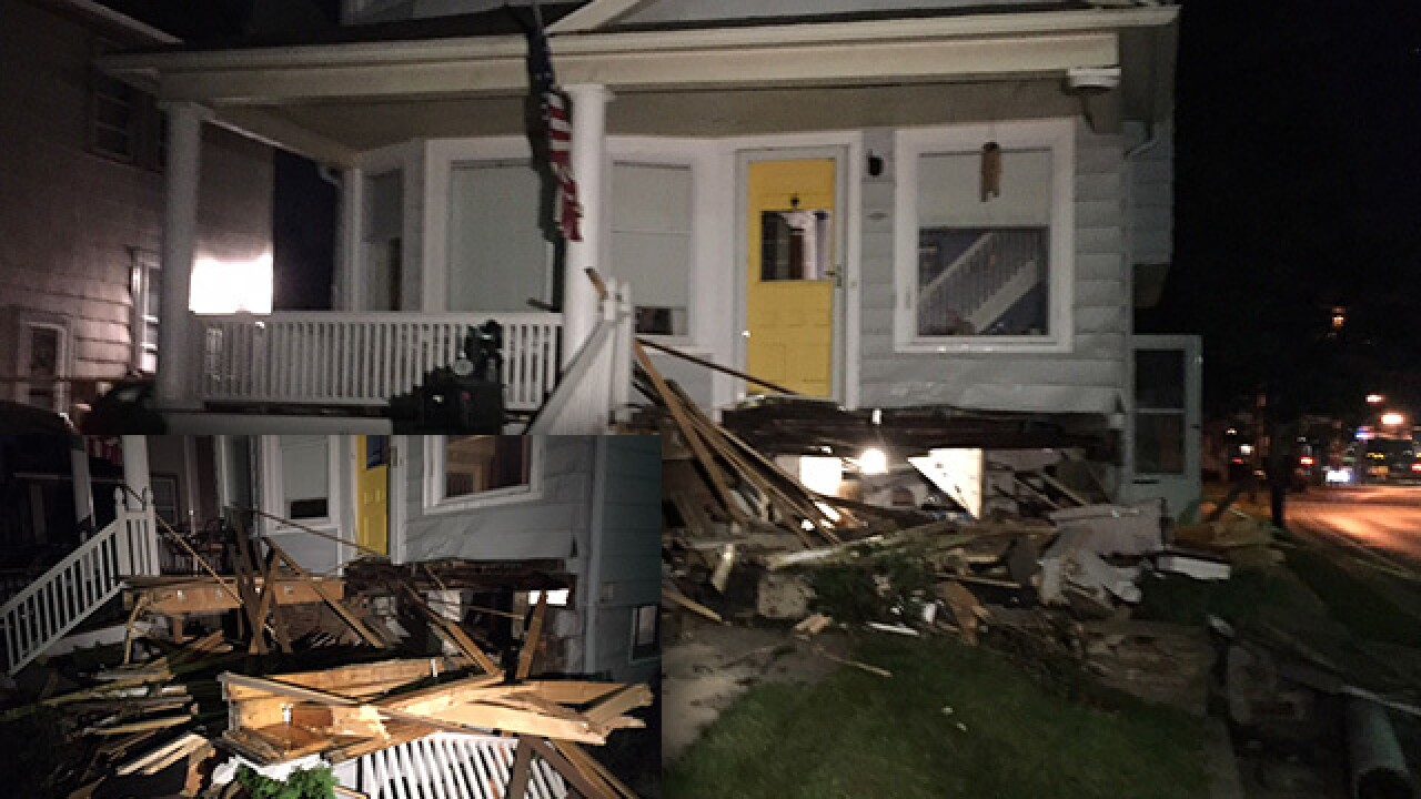 Car plows into Lakewood home, hitting gas line & forcing evacuations