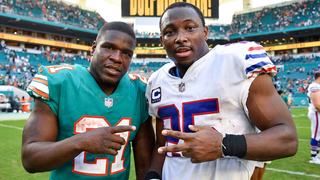 Comparing LeSean McCoy and Frank Gore through the first two weeks Buffalo Bills preaseason