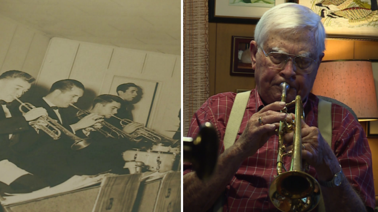 After 50 year hiatus, 93-year-old Henrico man rekindles lifelong passion for thetrumpet