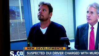 Suspected DUI driver charged with murder