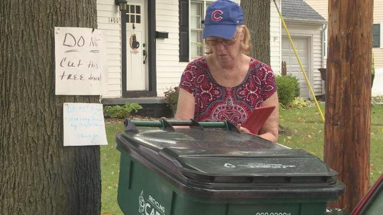 One woman's fight against BWL tree trimming
