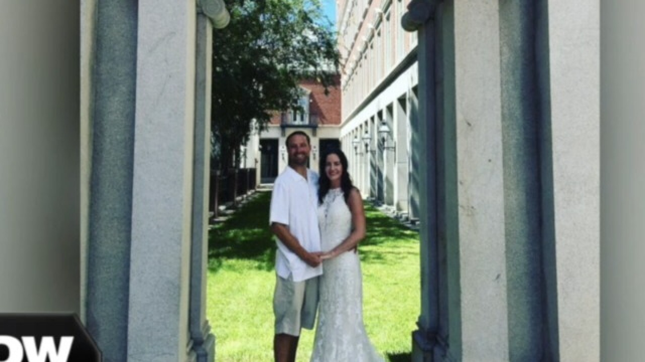 Couple rushes to tie the knot ahead of Hurricane Florence