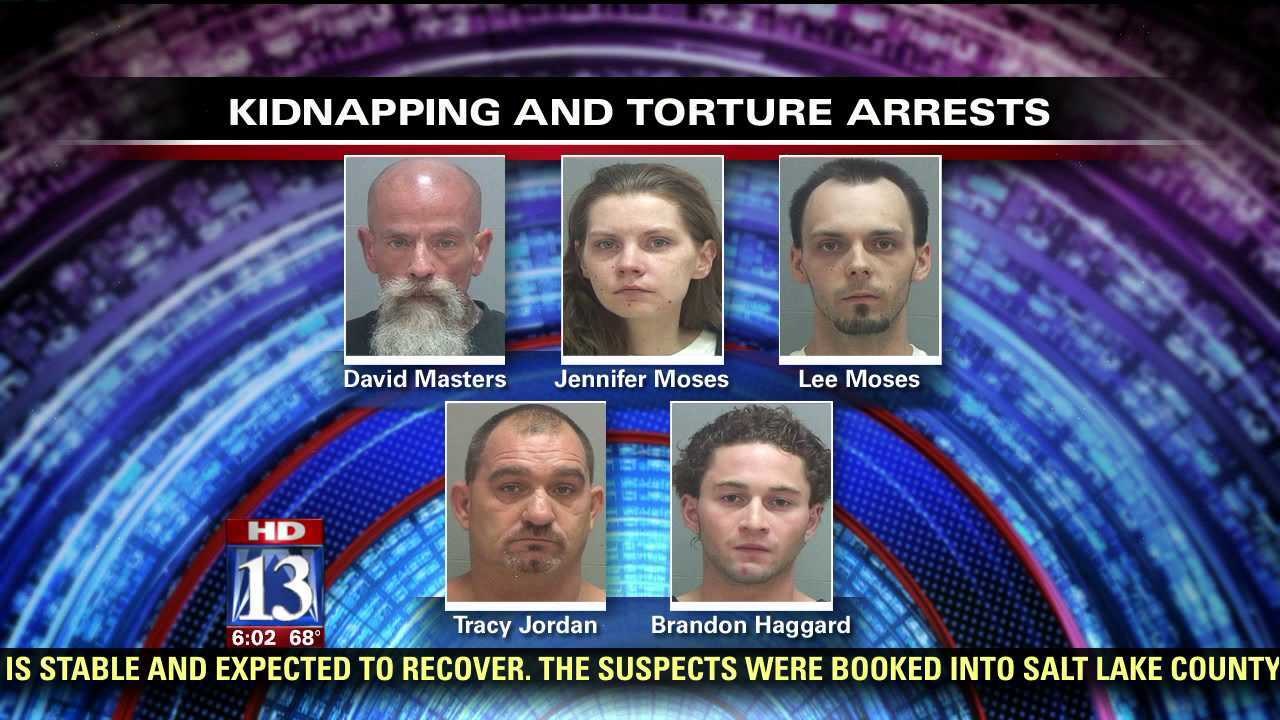 Six arrested for allegedly torturing roommate