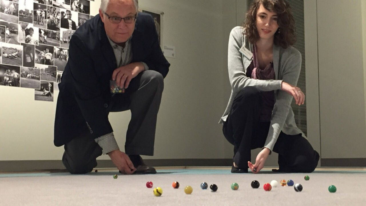 KC museum celebrates game of marbles