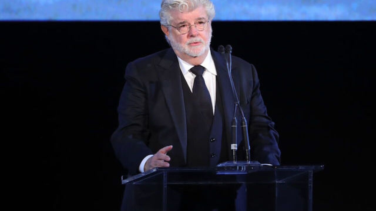 At $5.5 billion, George Lucas is the richest celebrity in America
