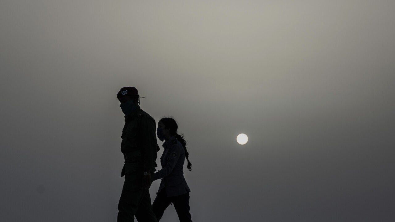 Saharan dust plume moves over US as southeast states struggle with Coronavirus cases