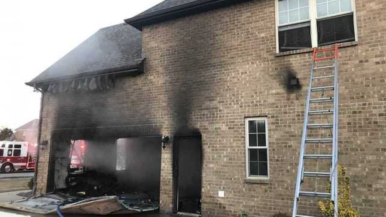 Murfreesboro home damaged in fire