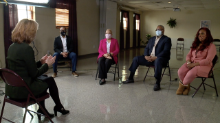 WCPO anchor Kristyn Hartman hosted a roundtable discussion in March 2021, with a panel of experts to explore health care equity and vaccine access in the Tri-State's black communities.