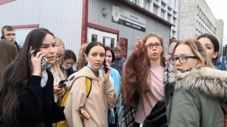 Russia Shooting at college