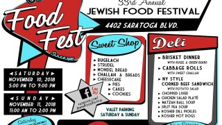 Jewish food galore at the Jewish Food Festival