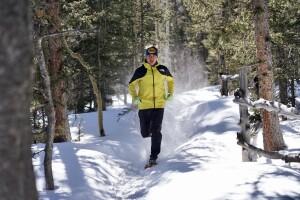 Zach Miller running at Barr Camp