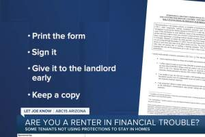 Are you a renter in financial trouble? Some tenants are not using protections to stay in homes