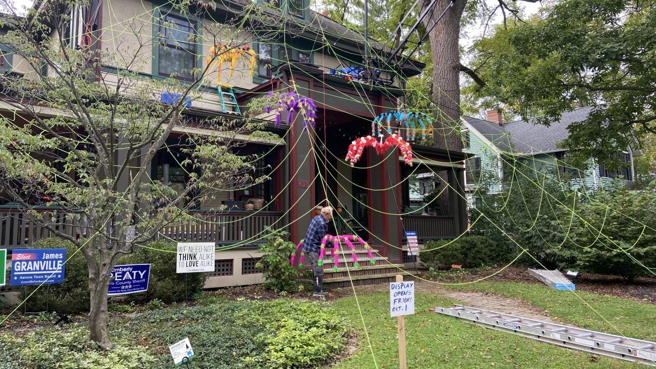 Spider House in East Aurora