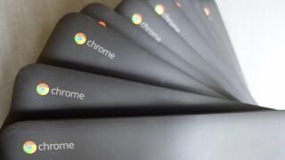 Chromebook laptop computers