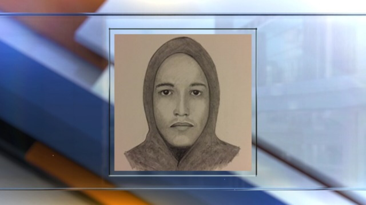 Sketch released of man wanted for carjacking woman at gunpoint in Boulder