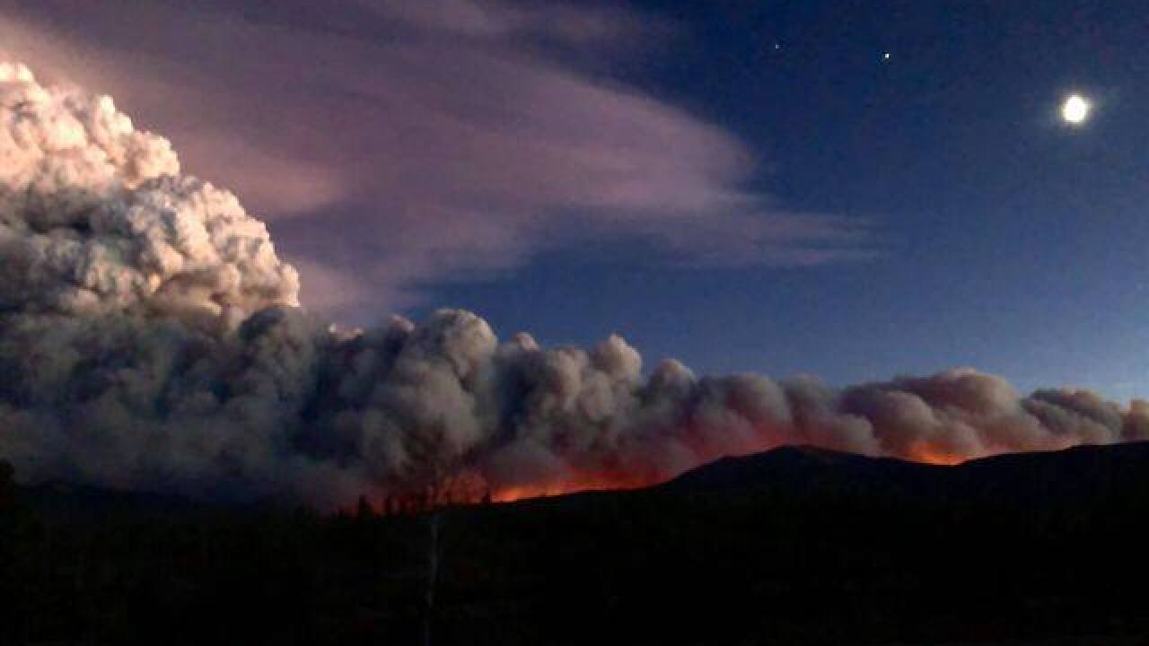 Historic Colorado wildfire season gets worse as East Troublesome fire explodes in size