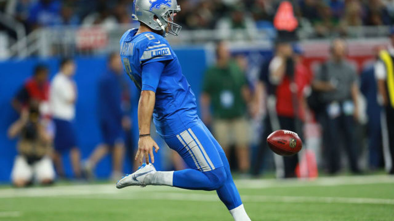 Reports: Broncos agree to deal with former Lions punter Sam Martin