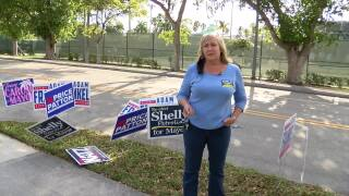 Delray Beach Mayor Shelly Petrolia speaks to WPTV before outcome of election, March 9, 2021