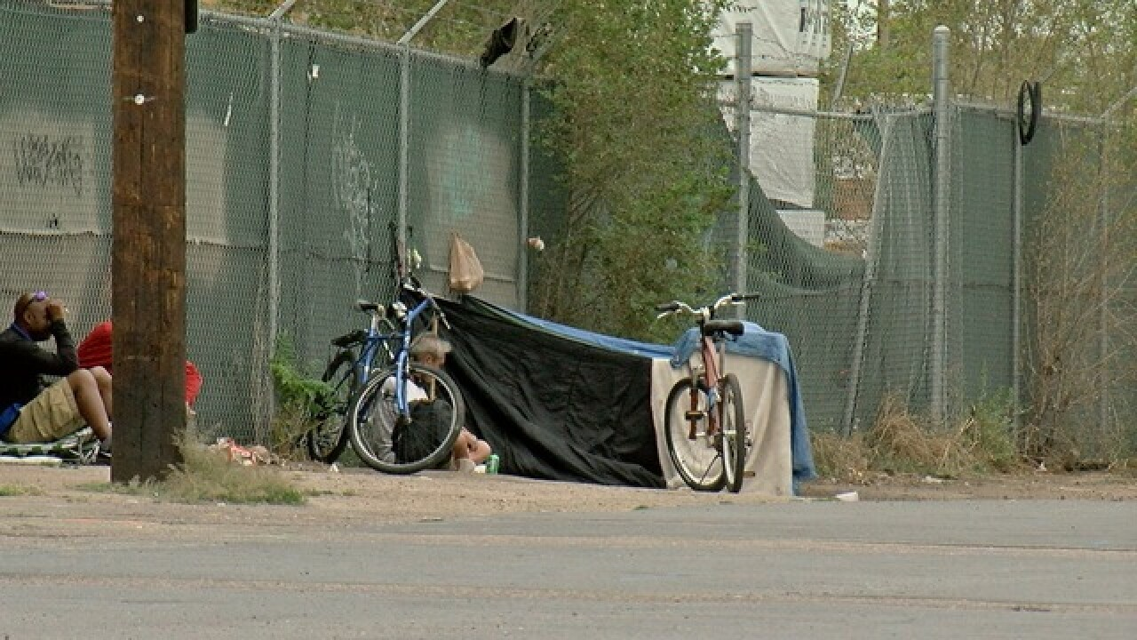 Colorado Springs homeless dismantle tent city