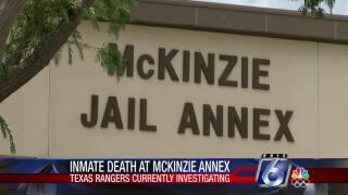 Presumed self-strangulation at McKinzie Jail Annex