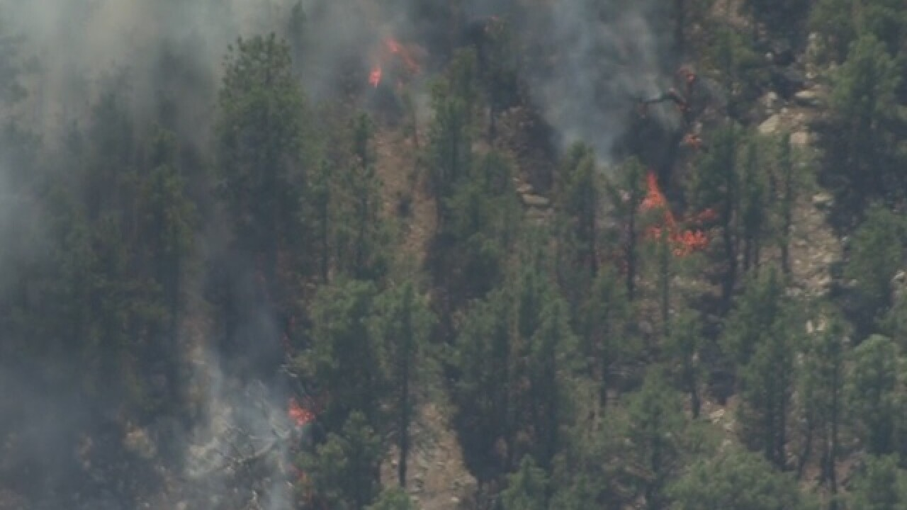 Fire south of Carter Lake forces evacuations