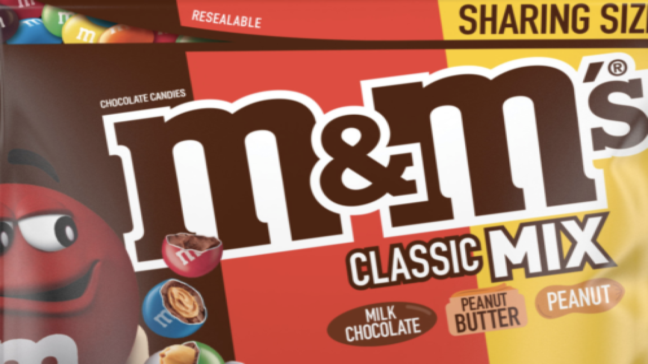 M&M's Is Making A Line Of 'mixed Bags' With 3 Different Kinds Inside