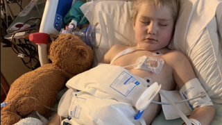Flathead community rallies behind Kila boy in critical care
