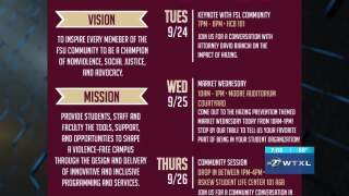 SECOND CUP: FSU Hazing Prevention Week
