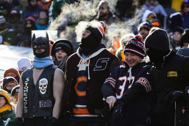 Packers Versus Bears at Soldier Field