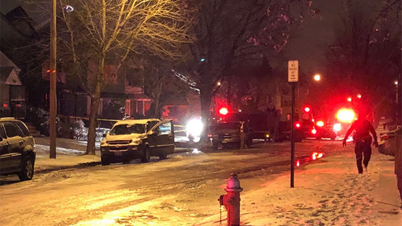 Four people missing in Cleveland fire