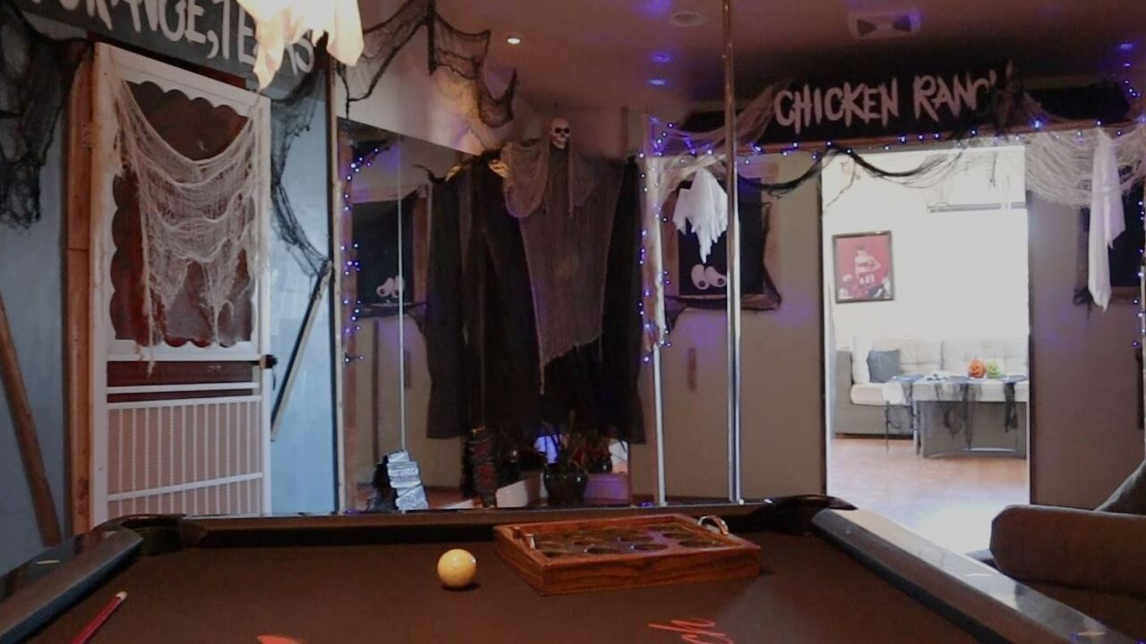 These are photos of the Chicken Ranch, a legal house of prostitution, located in Nye County