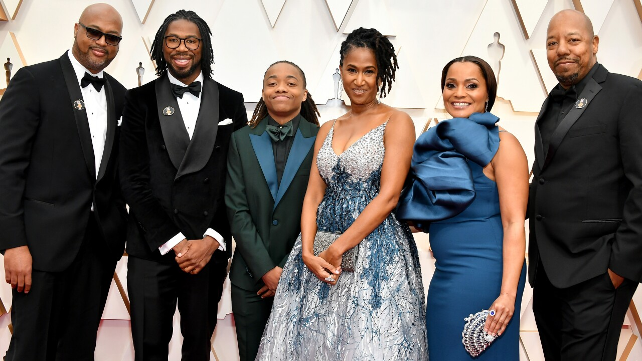 'Hair Love' director brings special guest to Oscars – student told to cut dreads