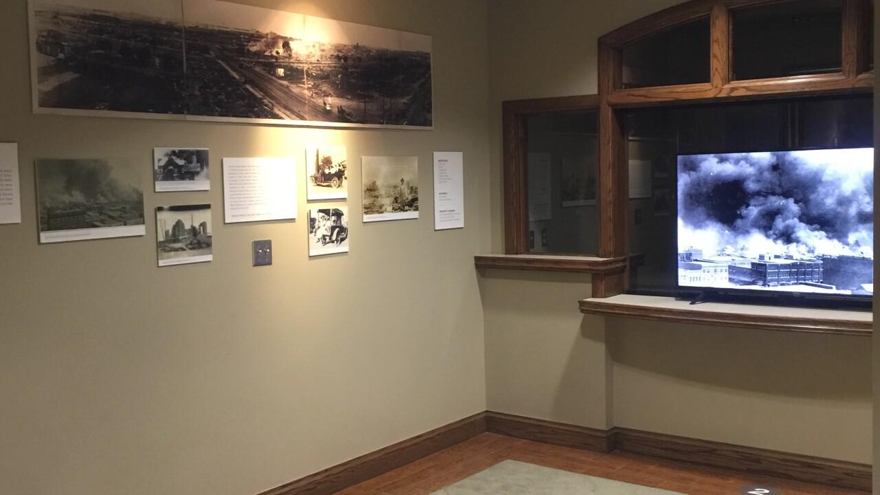 First Baptist's prayer room for the Tulsa Race Massacre