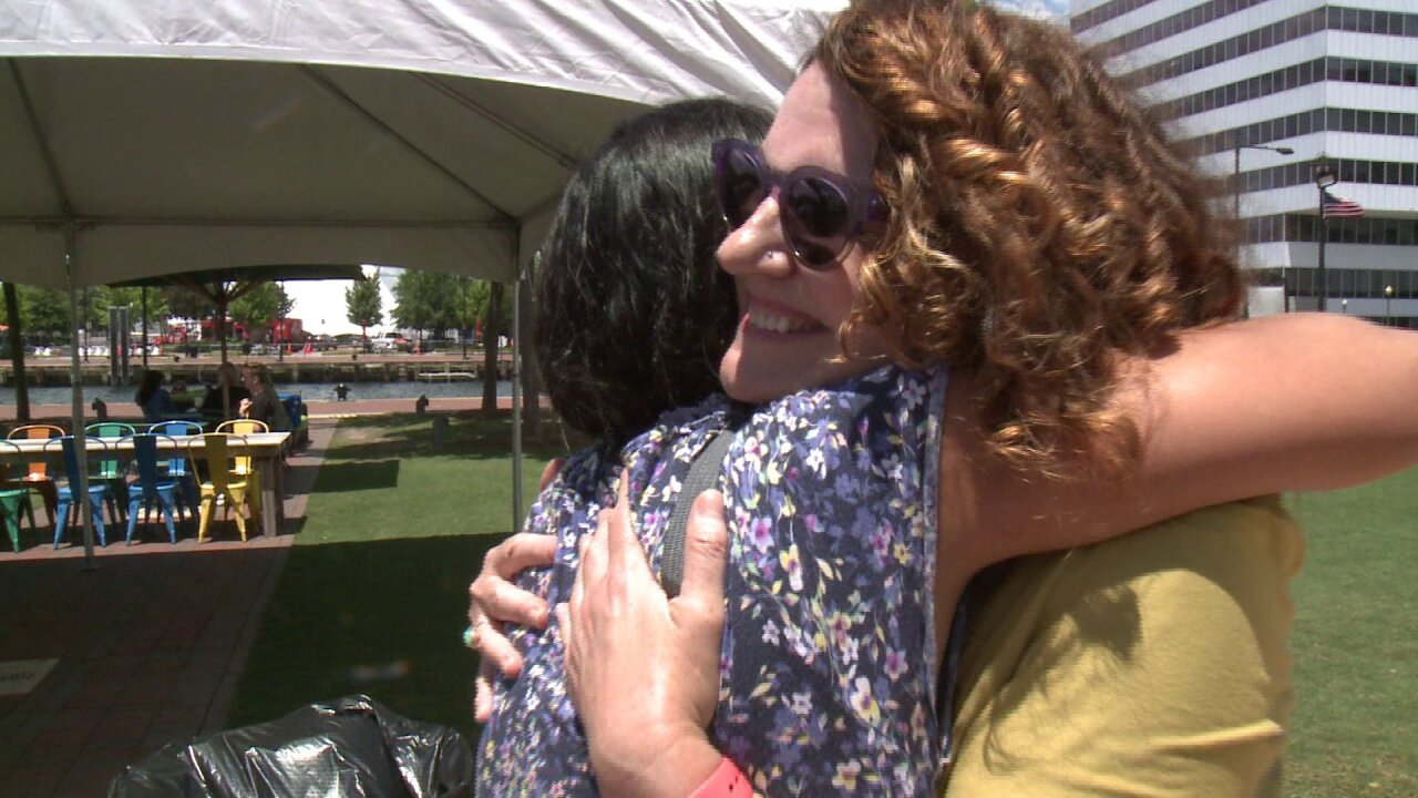 Women to give out 'Free Mom Hugs' at Saturday's PrideFest