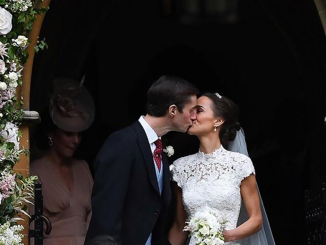 Photos from Pippa Middleton's elegant wedding to James Matthews