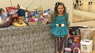 """Her heart is 'huge' for the animals"": Girl's birthday party to benefit animal shelter"