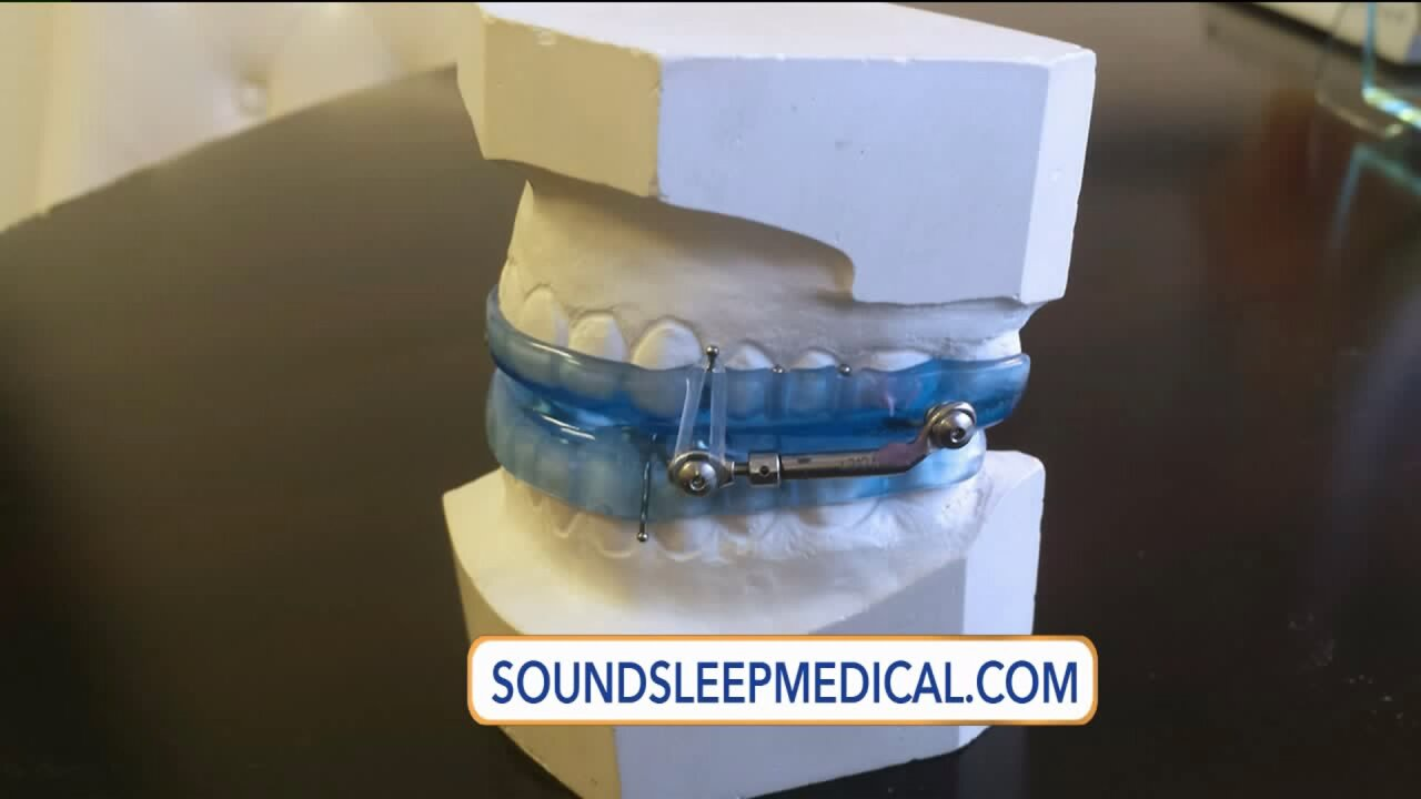 Get a sound night's sleep without a CPAPmachine