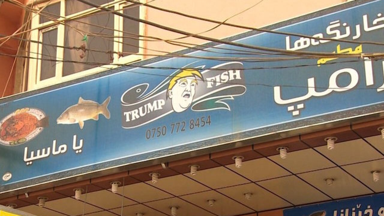 Donald Trump-themed restaurant opens in Iraqi Kurdistan