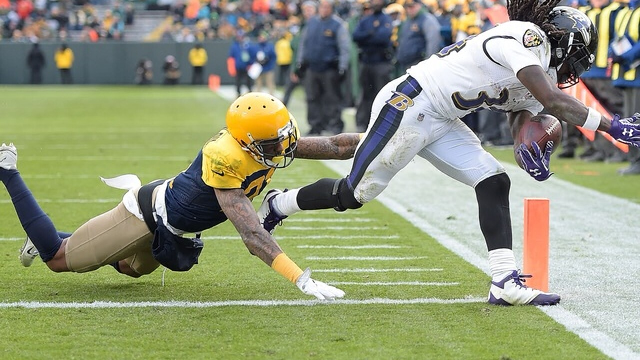 Packers give up five turnovers, lose 23-0 to Ravens
