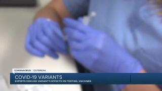 Doctors discuss COVID-19 variants